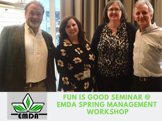 Mike Veeck & Fran Zeuli Deliver a Fun Is Good Seminar