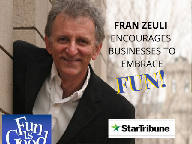 Fun and Fran featured in StarTribune