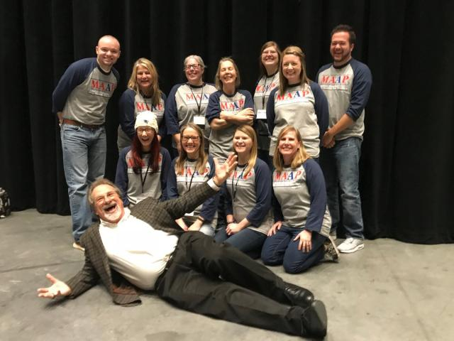 Mike Veeck & Minnesota Association of Alternative Programs Teachers