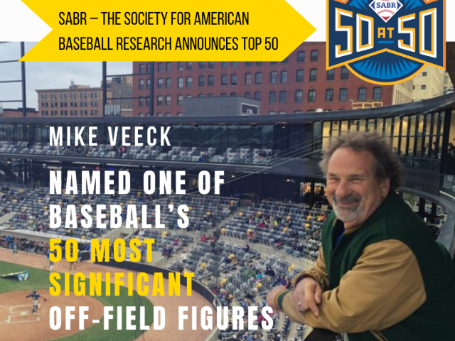 Mike Veeck Honored For Indelible Impact On Baseball!