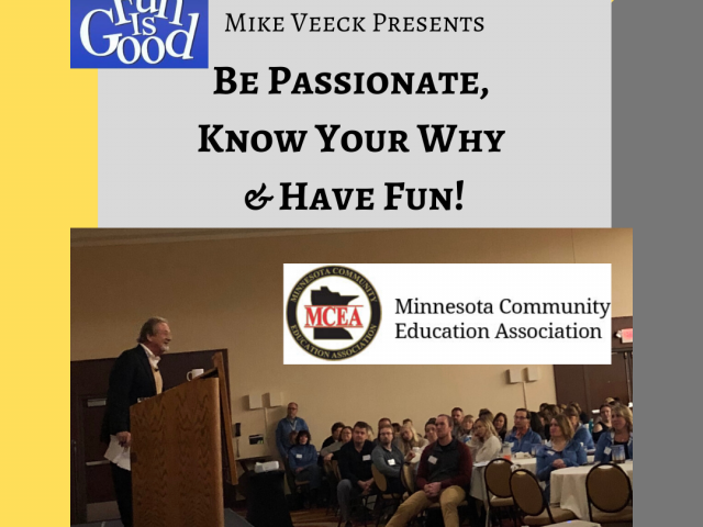 Mike Veeck @ MCEA Fall Conference