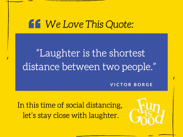 Laughter Is Good For You